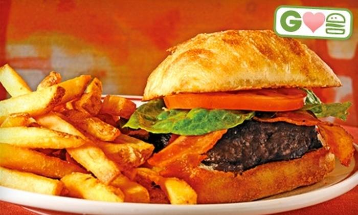Vince Carter's  - Palm Beach Gardens: $5 for $10 Worth of Burgers and Drinks at Vince Carter's