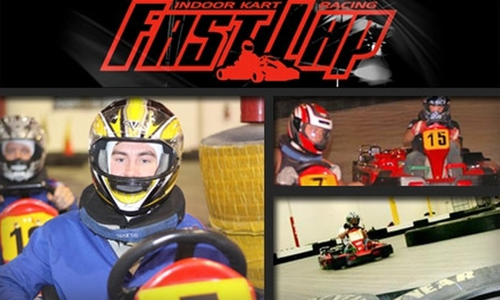 Fast Lap - Paradise: $25 for Four Go-Kart Races and Yearlong Membership at Fast Lap ($61 Value)