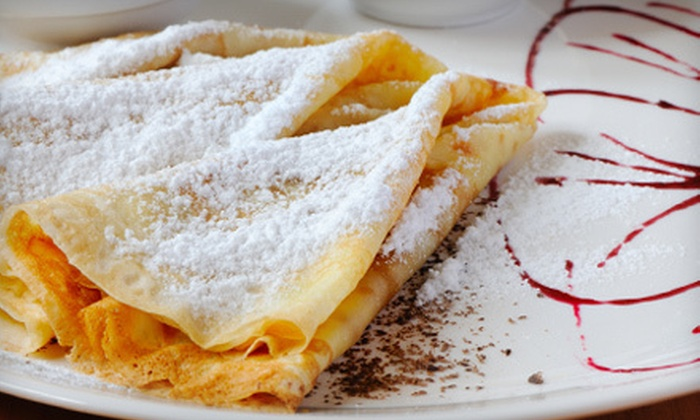 Crepe Town Cafe - Empire Ranch Village: $15 for $30 Worth of Crepes at Crepe Town Cafe in Cameron Park
