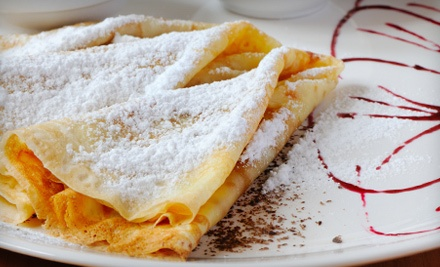 $30 Groupon to Crepe Town Cafe  - Crepe Town Cafe in Cameron Park