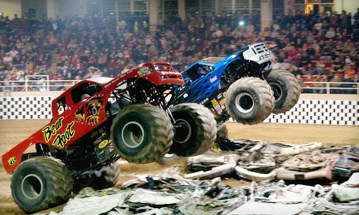 Monster Truck Entertainment - Daytona Beach: $13 for One VIP Ticket to the Monster X Tour at Ocean Center on January 6 or January 7. (Up to $26.75 Value)