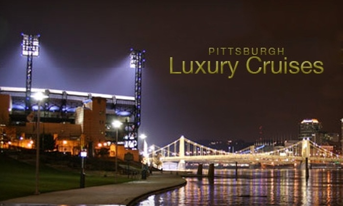 Pittsburgh Luxury Cruises - Strip District: $40 for a VIP Steelers Home Game Sailgate Cruise with Pittsburgh Luxury Cruises ($80 Value)