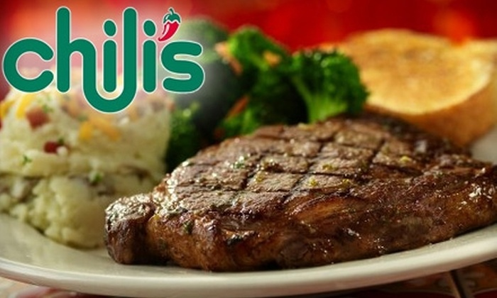 Chili's - Glencairn: $15 for $30 for Southwestern–Inspired Fare and Drink at Chili's Regina