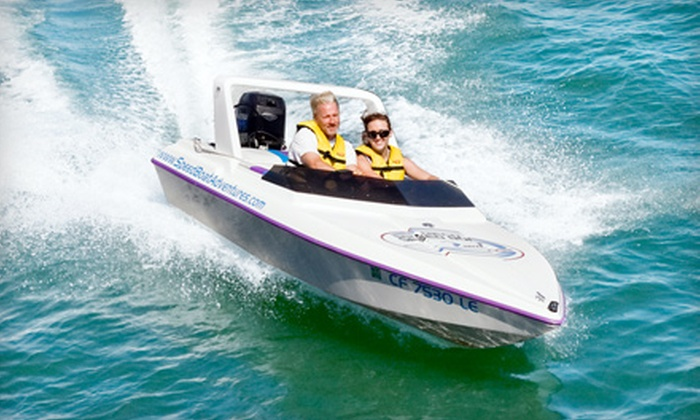 Speed Boat Adventures - Tierra Verde: $59 for a Speedboat Tour for Two from Speed Boat Adventures in St. Pete ($126.26 Value)