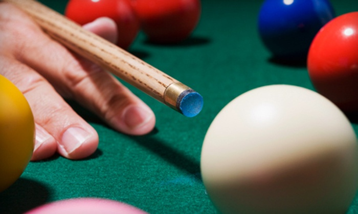 VIP Billiards - Bayport: Two Hours of Billiards with Drinks for Two or Four People at VIP Billiards in Bayport (Up to 55% Off)