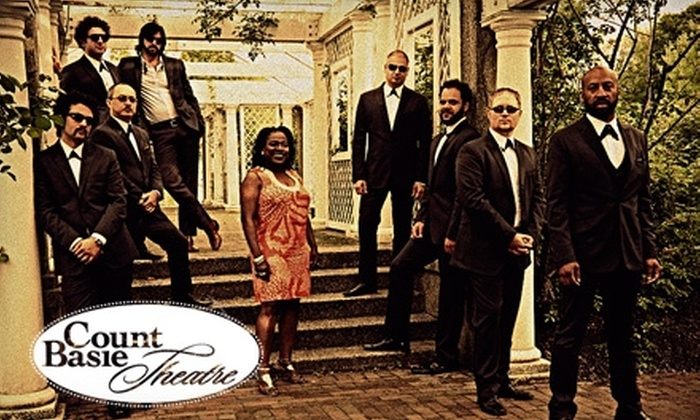 Count Basie Theatre - Red Bank: One Ticket to Sharon Jones and the Dap-Kings at the Count Basie Theatre in Red Bank on January 29. Choose from Two Seating Options.