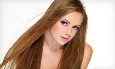 Haircut with Wash, Blowdry and Style, and a Conditioning Hair-and-Scalp Treatment - Allan Parss Salon in Toronto