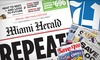 "Miami Herald - Fort Lauderdale: $9 for 12-Month Sunday Home Delivery to the ""Miami Herald"" ($80.13 Value)"