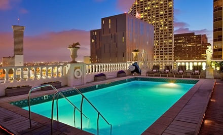 Stay at Le Pavillon in New Orleans, with Dates into December