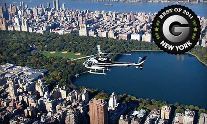 Manhattan Helicopters - Downtown: Helicopter Ride for One or Two from Manhattan Helicopters (Up to $165 Off)