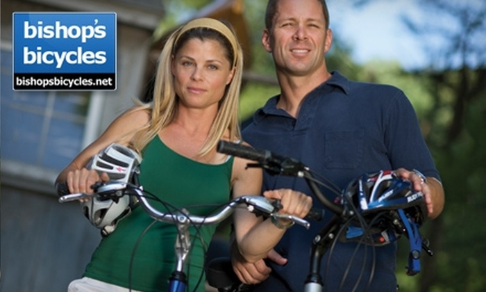 Bishop's Bicycles - Milford: $15 for Daylong Road-Bike Rental ($30 Value) or $10 for Daylong Comfort-Bike Rental ($20 Value) at Bishop's Bicycles