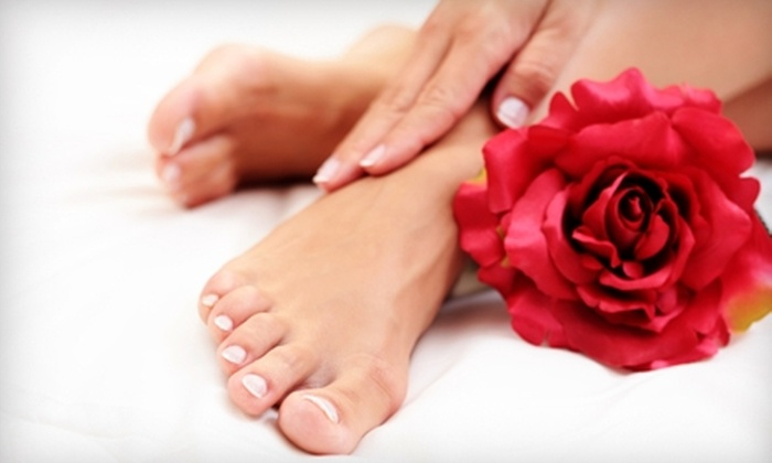 All Dolled Up Salon - Syracuse: $15 for a Mani-Pedi at All Dolled Up Salon ($35 Value)