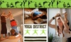 Yoga District - Multiple Locations: $45 for Eight Yoga Classes at Yoga District ($75 Value)