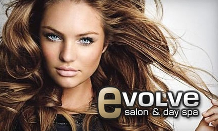 Evolve Salon & Day Spa - Holladay: $25 for $50 Worth of Services at Evolve Salon & Day Spa