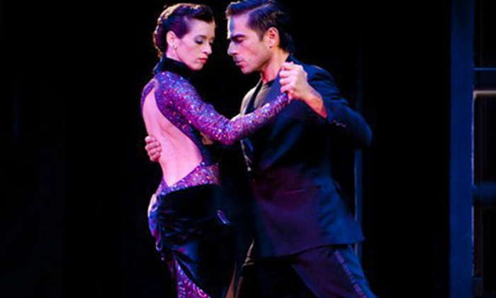 Drom - Village: $28 for a Tango Outing with Lesson, Latin Dinner, and Rose at Drom on March 1, 2, or 3 ($69 Value). Six Times Available.