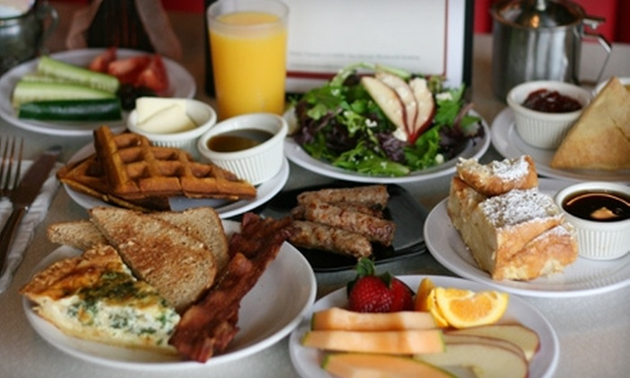Fresh & Fabulous Cafe - Oxnard: $13 for Weekend Light Tea Service for Two or Weekend Brunch for Two at Fresh & Fabulous Cafe ($25.90 Value)