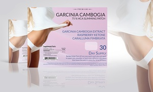 Garcinia Cambogia Slimming Patches Weight Loss Supplement (30-Pack) at Garcinia Cambogia Slimming Patches Weight Loss Supplement (30-Pack), plus 9.0% Cash Back from Ebates.