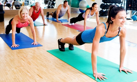 $35 for a One-Month Membership Plus Unlimited Group Classes at Adio Fitness and Nutrition ($100 Value)
