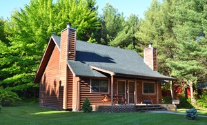 Log Cabins near Wisconsin Dells Water Parks at Birchcliff Resort, plus 6.0% Cash Back from Ebates.