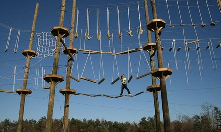 Two-Hour High-Ropes Course for One or Four at Kersey Valley High Ropes Course (Up to 49% Off)