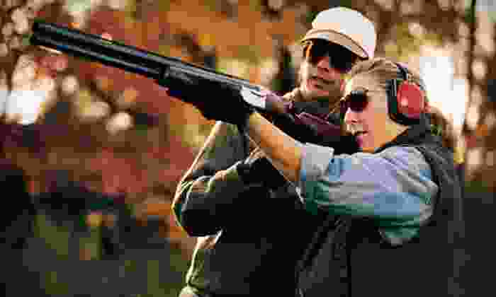 Cedar Creek Sporting Clays - Lawrence: 50-Target Round of Sporting-Clay Shooting for Two or Four at Cedar Creek Sporting Clays (Up to 54% Off)