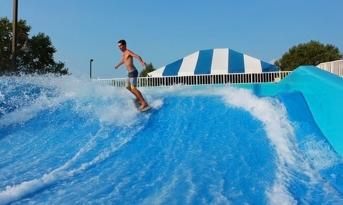 Splash City Waterpark - Collinsville: Admission for Two Kids and Two Adults or for Four Adults at Splash City Waterpark (Up to 45% Off)
