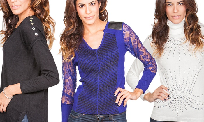 Stylish Knit Sweaters: Stylish Knit Sweaters. Multiple Styles Available.