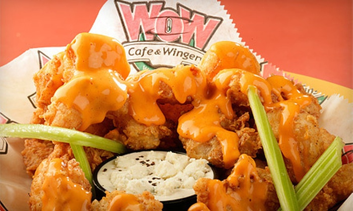 Wow Cafe and Wingery - Mount Juliet: $10 Worth of Wings and American Fare