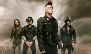 Hellyeah: Hellyeah, Escape the Fate, New Years Day, and From Ashes to New on May 10 at 7 p.m.
