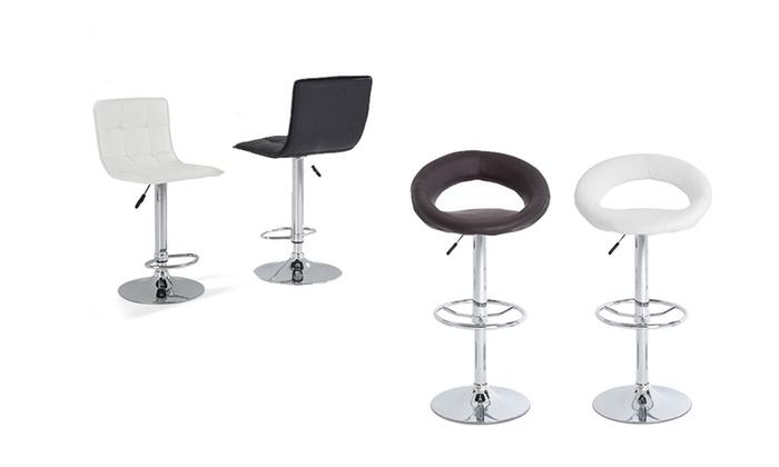 tabourets de bar cool ou jack groupon. Black Bedroom Furniture Sets. Home Design Ideas