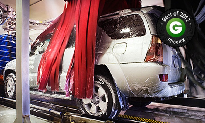Danny's Family Car Wash - Multiple Locations: $25 for Three Car-Wash Packages with Spray Wax and Vacuum at Danny's Family Car Wash (Up to $47.94 Value)