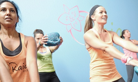 Up to Six Weeks of Unlimited Boot Camp or Cardio Conditioning Classes for Women at Kaia FIT (Up to 60% Off)