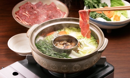 Fusion Hot Pot Cuisine for Two or Four or More Adults at Riverside Hot Pot Cuisine (41% Off)