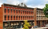 Historic Plaza Hotel - Las Vegas: Stay with Dining Credit at Historic Plaza Hotel in Las Vegas, NM