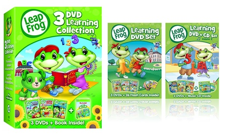 Leap Frog Learning DVD Sets bf20a93c-ee13-11e6-9041-00259060b5da