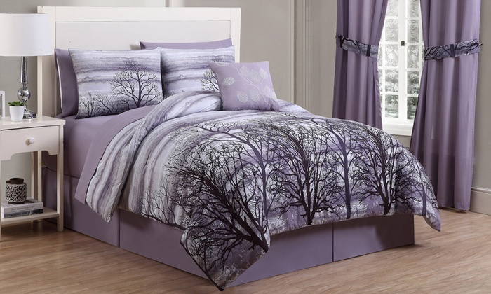 Forest Bed in a Bag Comforter Set with Sheets 8 Piece Groupon