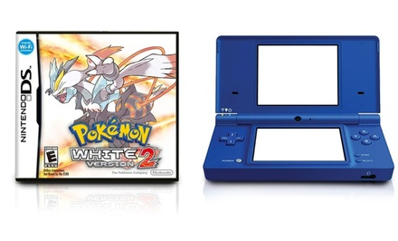 Nintendo DSi (Manufacturer Refurbished) with Pokémon White 2