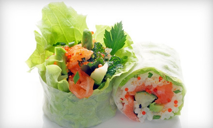 Planet Sushi - Brickell: French-Inspired Japanese Cuisine and Drinks for Two, Four, or Six at Planet Sushi (Half Off)