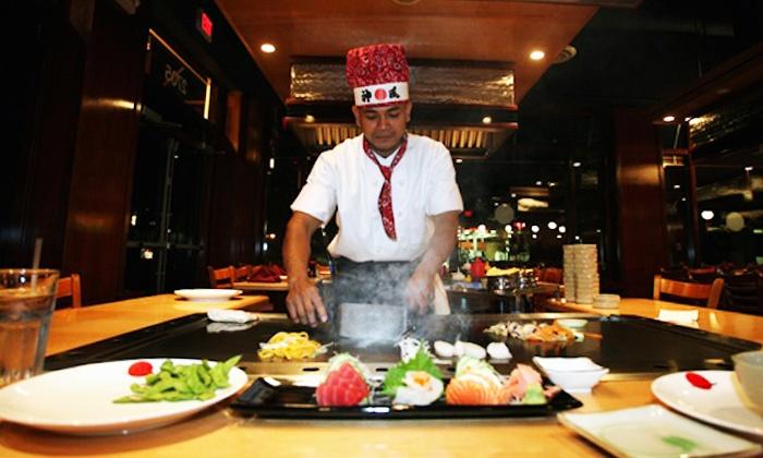 Anese Dinner Cuisine For Two Tokyo Steak House Groupon