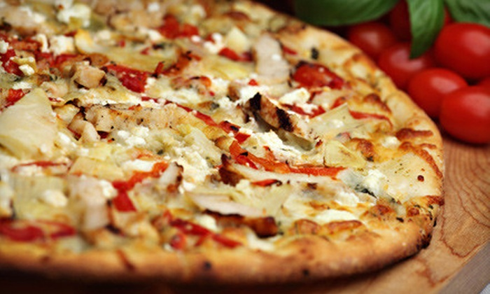 Waterloo Pizza & Subs - Elkridge: $15 for Two Large Two-Topping Pizzas with 2-Liter Soda at Waterloo Pizza & Subs in Elkridge ($30.37 Value)