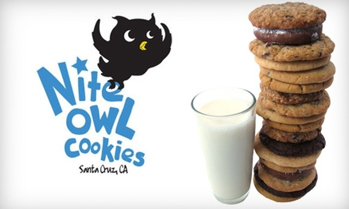 Nite Owl Cookies - Central Santa Cruz: $7 for a Baker's Dozen at Nite Owl Cookies
