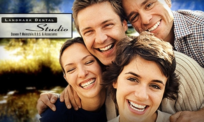 Landmark Dental Studio - Greenwood Village: $179 for an In-Office Laser Teeth Whitening Plus a Paraffin Hand Treatment at Landmark Dental Studio