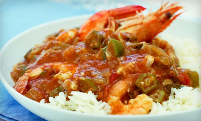 The Big Easy  - Cary: New Orleans–Style Cajun Fare at The Big Easy in Cary (Up to 53% Off). Two Options Available.