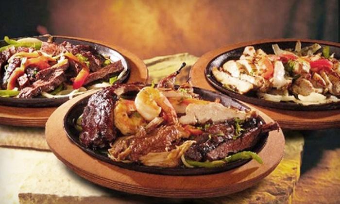 El Chico - Beaumont Residential: Enchilada or Fajita Meal for Two at El Chico (Half Off)