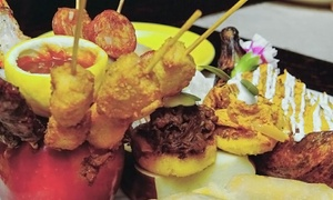 Mamajuana Cafe: Latin American Cuisine and Drinks at Mamajuana Cafe (Up to 50% Off). Four Options Available.