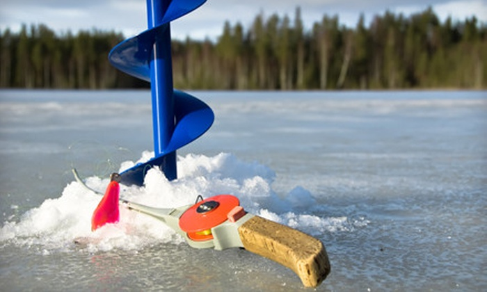 Ice Fishing Adventures - Suamico: Guided Ice-Fishing Outing for Two or Four from Ice Fishing Adventures in Green Bay (Up to 58% Off)