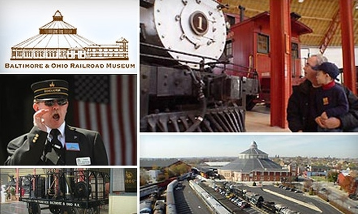 B&O Railroad Museum  - Washington Village: $7 For One Adult Admission to the B&O Railroad Museum