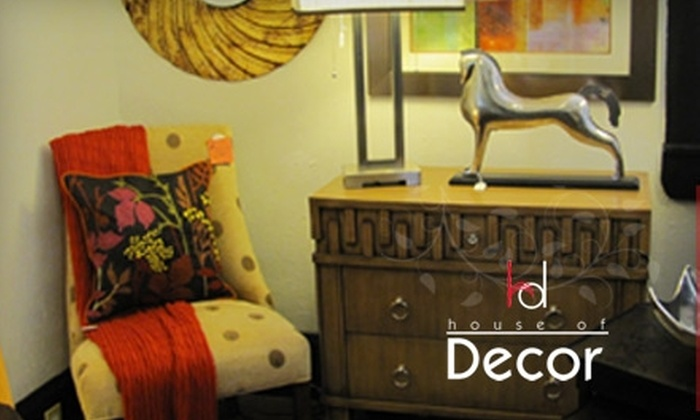 House of Décor - Huntsville: $30 for $60 Worth of Furniture and Home Accessories at House of Décor