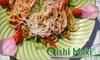 Oishi Maki Japanese Restaurant - Whitby: $20 for $40 Worth of Japanese Fare at Oishi Maki Japanese Restaurant