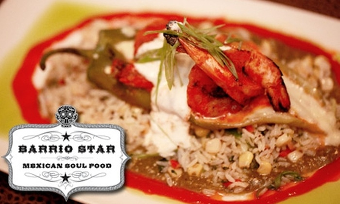 Barrio Star - Park West: $10 for $20 Worth of Brunch or Lunch, or $20 for $40 Worth of Dinner at Barrio Star
